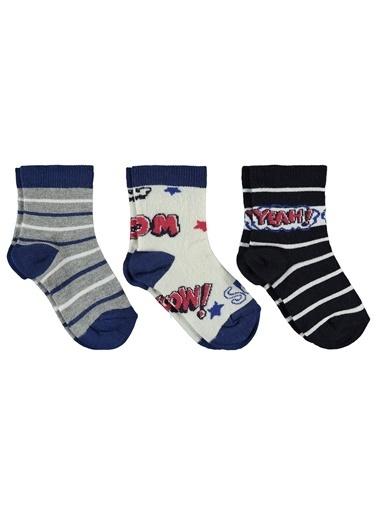 Civil Boys Civil Boys Erkek Çocuk 3'lü Çorap 3-11 Yaş indigo Civil Boys Erkek Çocuk 3'lü Çorap 3-11 Yaş indigo İndigo